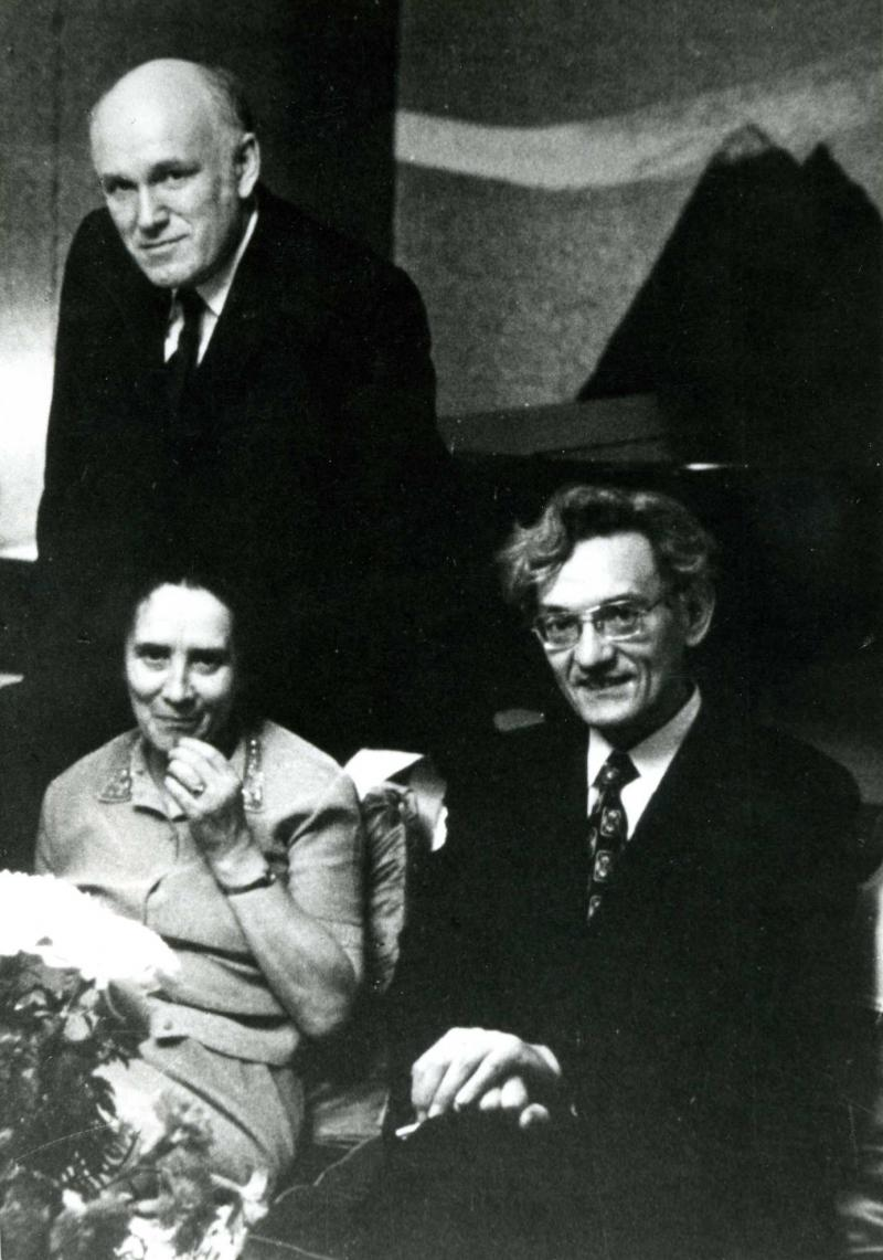 Sviatoslav Richter, Nina Dorliak, and Vladimir Takenouchi